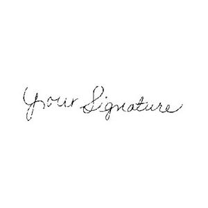 SIGNATURE - Signature Stamp